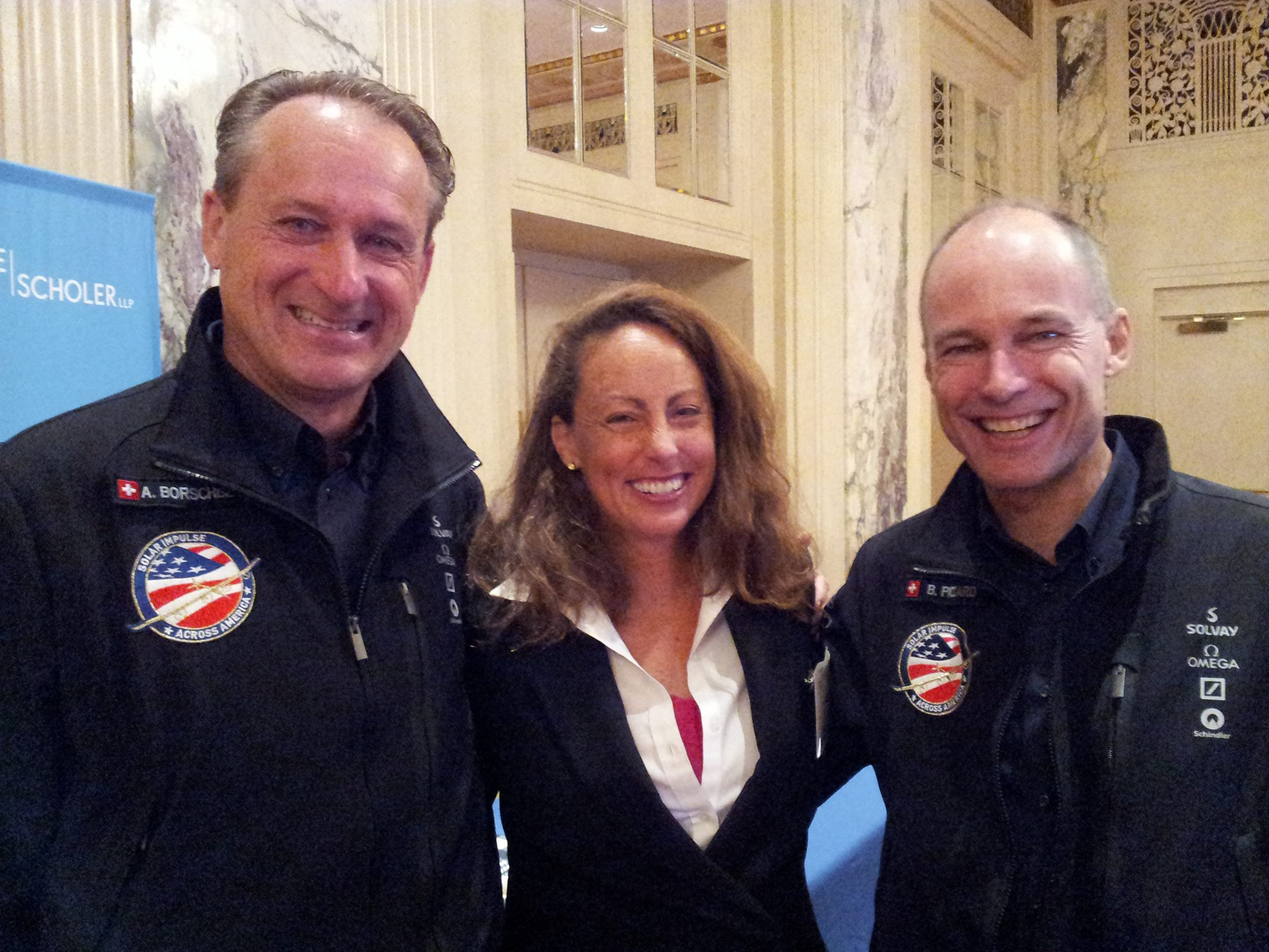 In the tone of realizing dreams, and being an inspiration for the Wall Street financial world at REFF Wall Street our friends André and Bertrand, the Pilot's of the Solar Impulse airplane teamed-up for a game changing keynote speech.