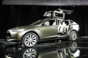 Tesla Model X crossover SUV. Orders for it are being taken now. © NRMA New Cars / Wikimedia Commons / CC-BY-SA-3.0 / GFDL