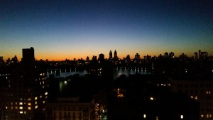 NYC Barbara's roof top sunset20150923_193258